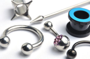 Jewelry for piercings